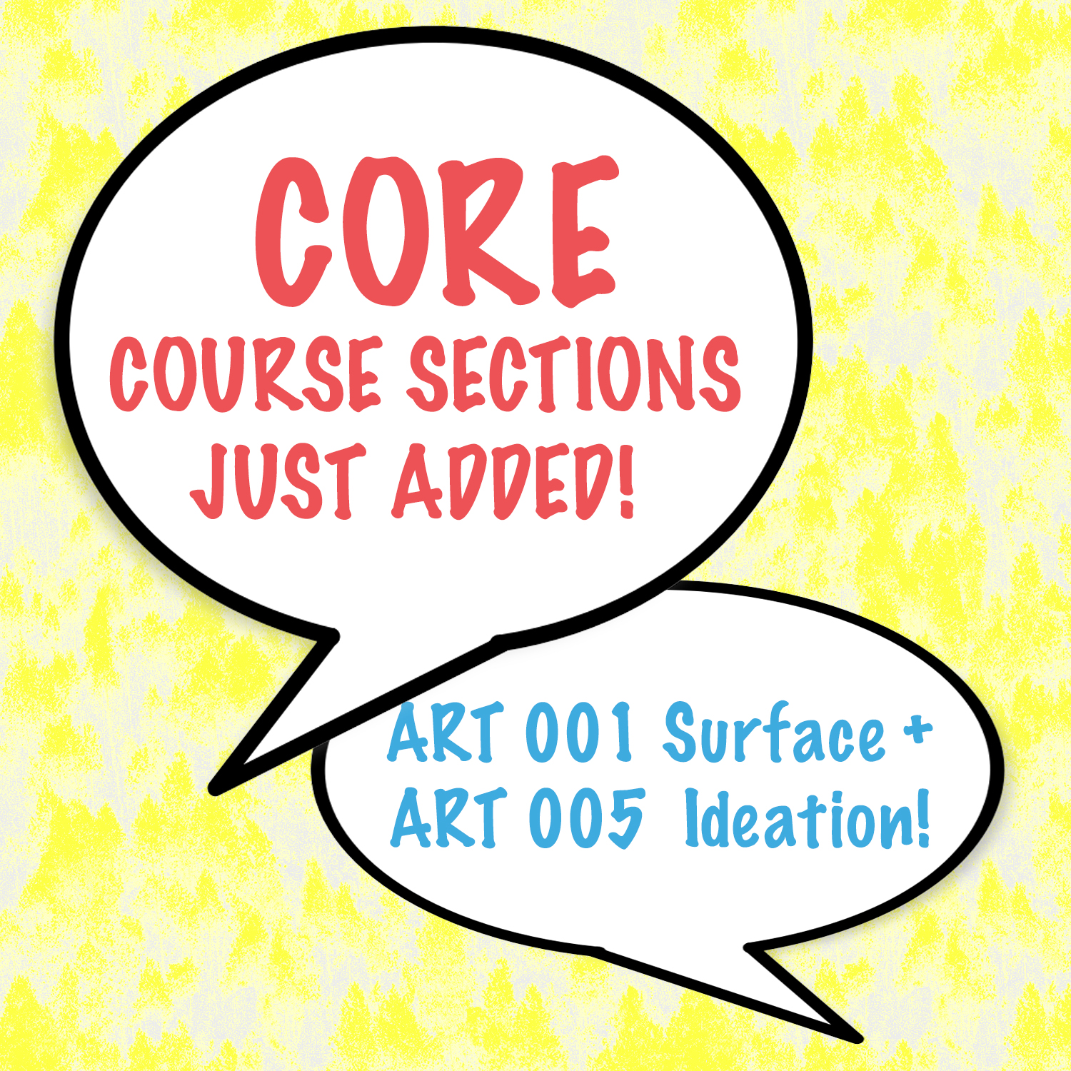 CORE opens 2 more courses, Ideation and Surface